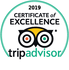 Trip Advisers Certificate of Excellence